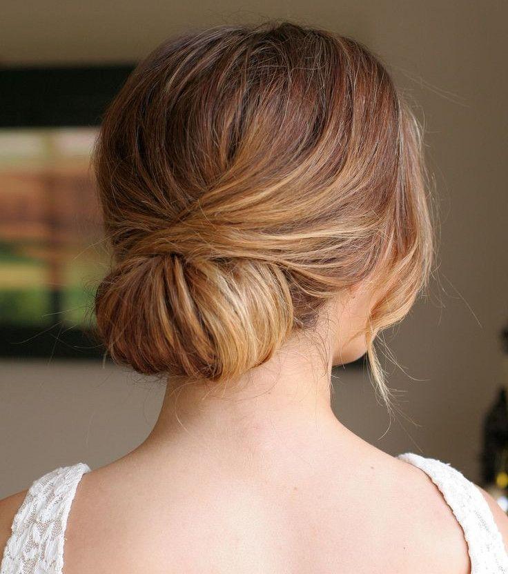 Coiffures simples : 15 coiffures de mariée à faire en quelques minutes | Coiffure simple mariage ...