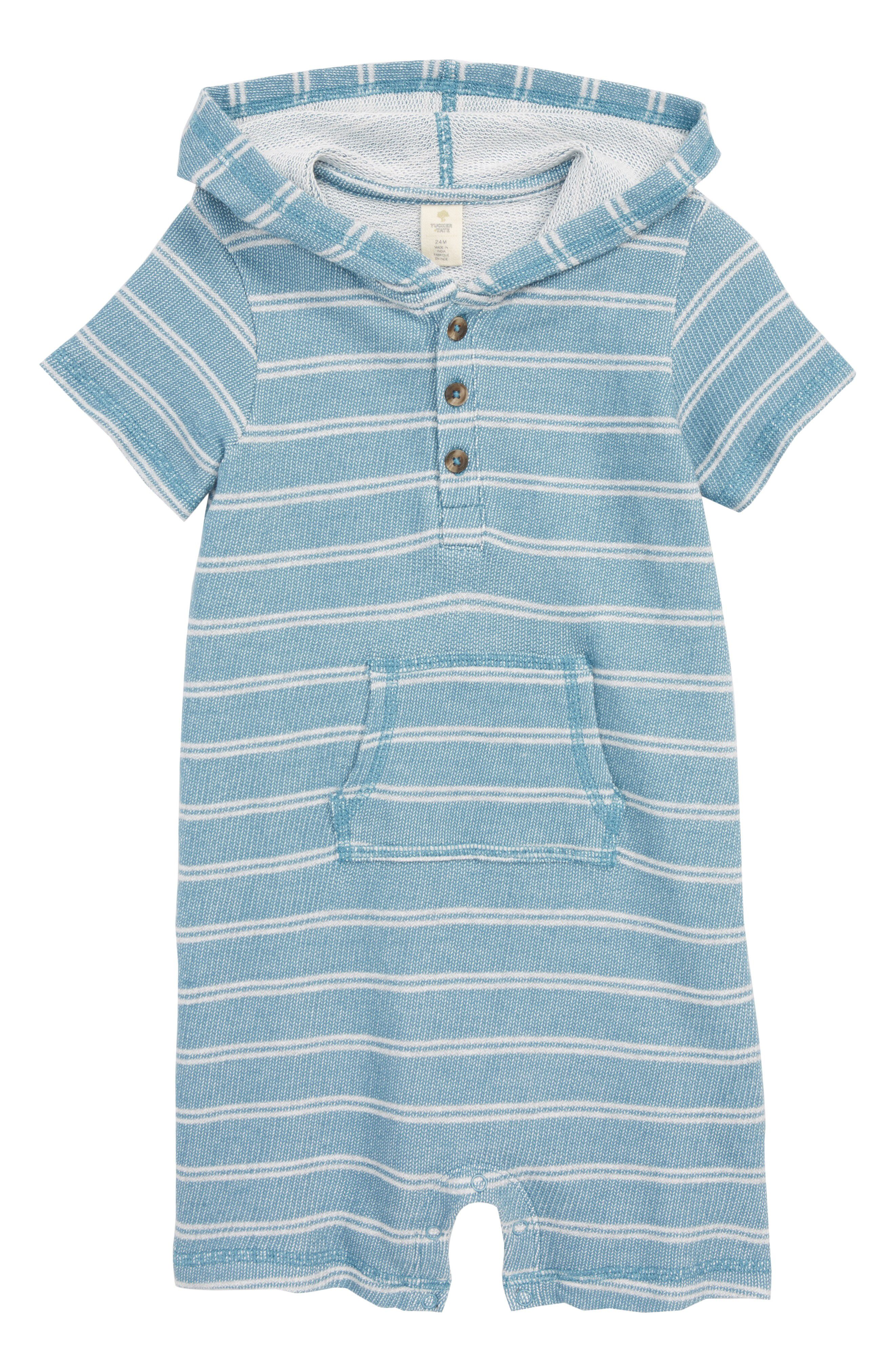 ca81cc659 Tucker + Tate Tucker+Tate Stripe Hooded Romper available at #Nordstrom