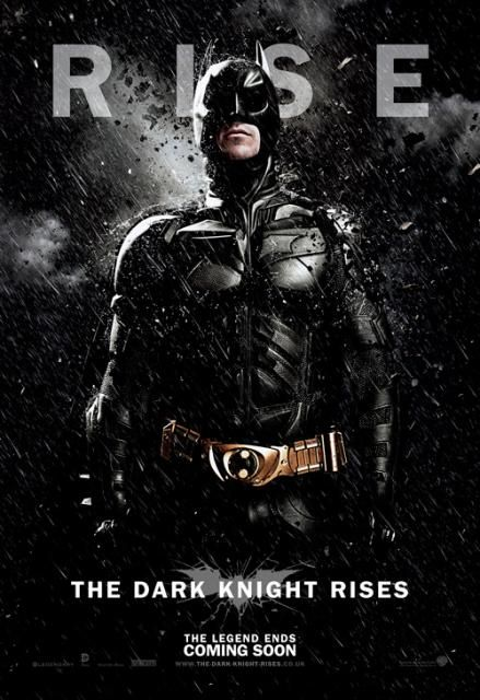 Batman - The Dark Knight Rises: Nuevos pósters individuales para EE.UU. y Reino Unido