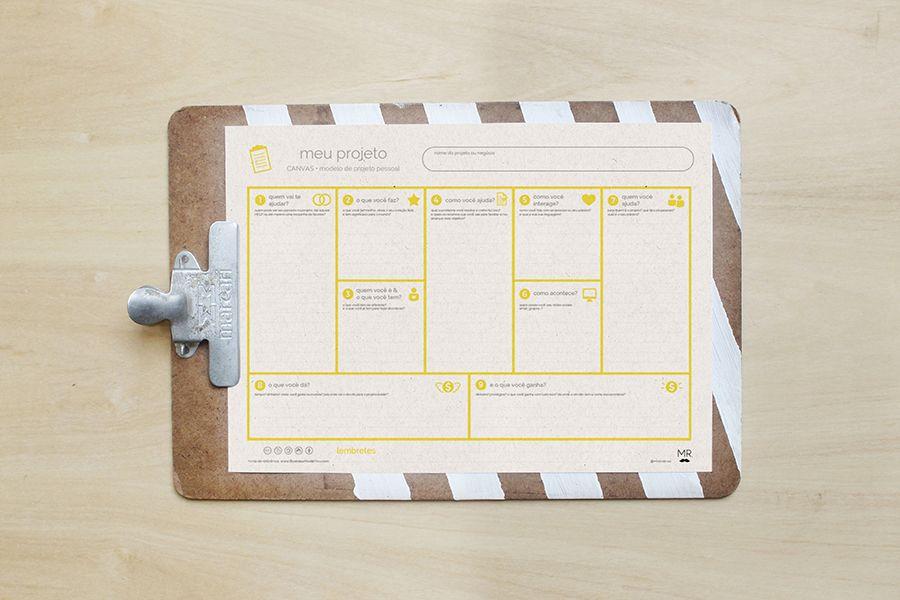 CANVAS - o mistério! desvende e use esta ferramenta tão importante para tirar seu projeto do papel, e baixe um canvas simplificado grátis! \0/