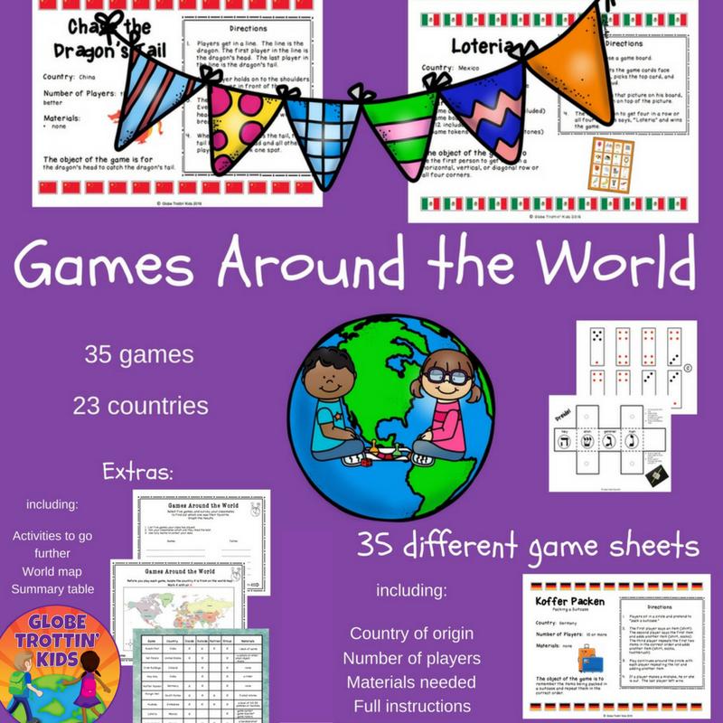 Games Around The World, Developed By GlobeTrottin' Kids