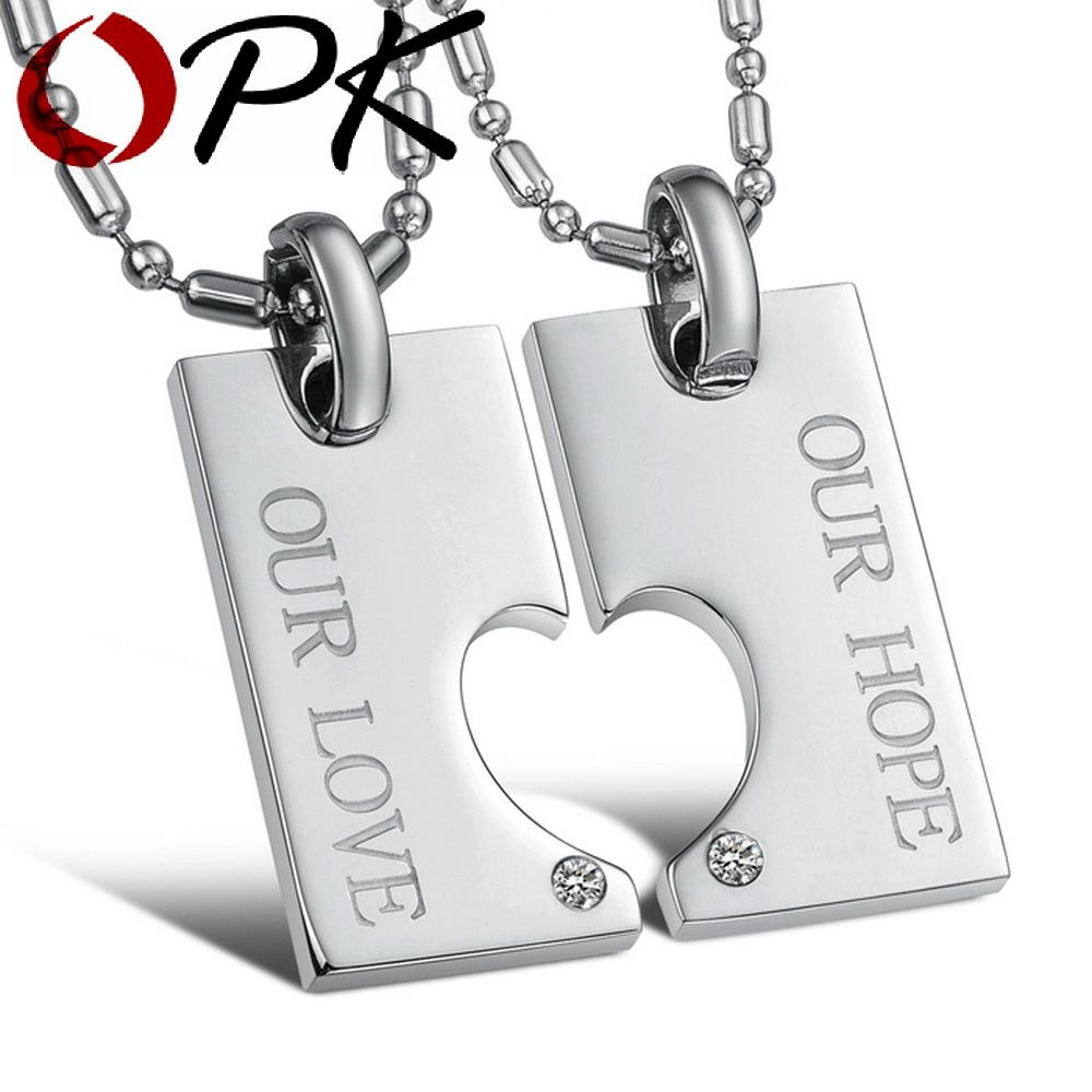 Click to buy ucuc opk jewelry fashion romantic style stainless steel