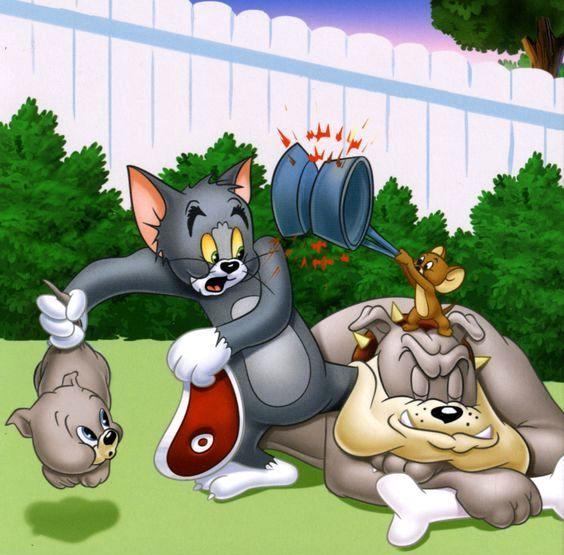 3 Tom Jerry 3 Desenhos Animados Antigos