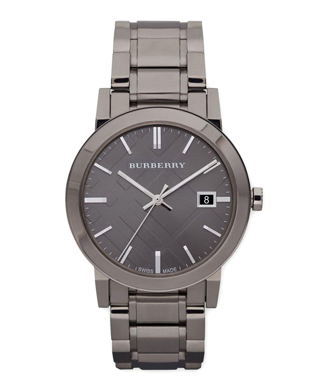 burberry gray watch