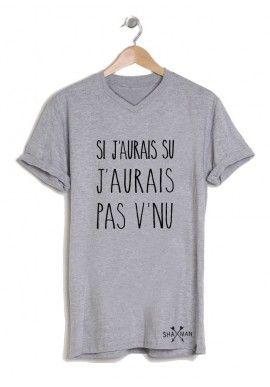 Tee shirts originaux imprimés pour Homme. Mode ac48c5b08a6