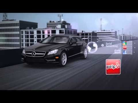 Mbrace2 Built In Vehicle Technology Mercedes Benz Benz Building