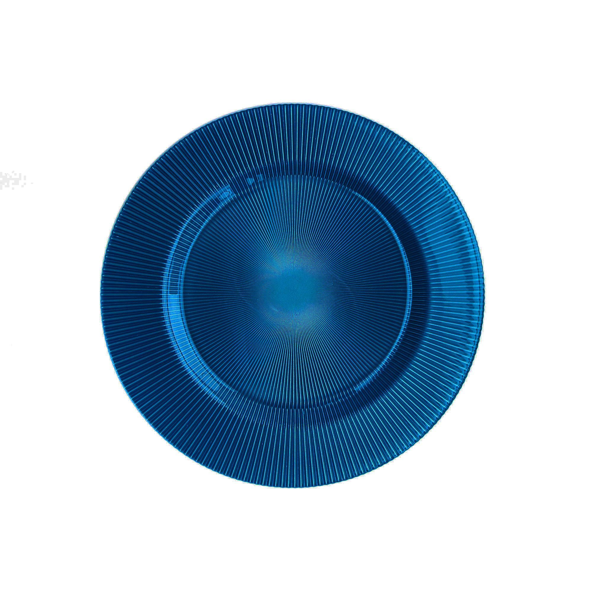 Pearl ChargeIt by Jay Sunray Blue Charger Plate