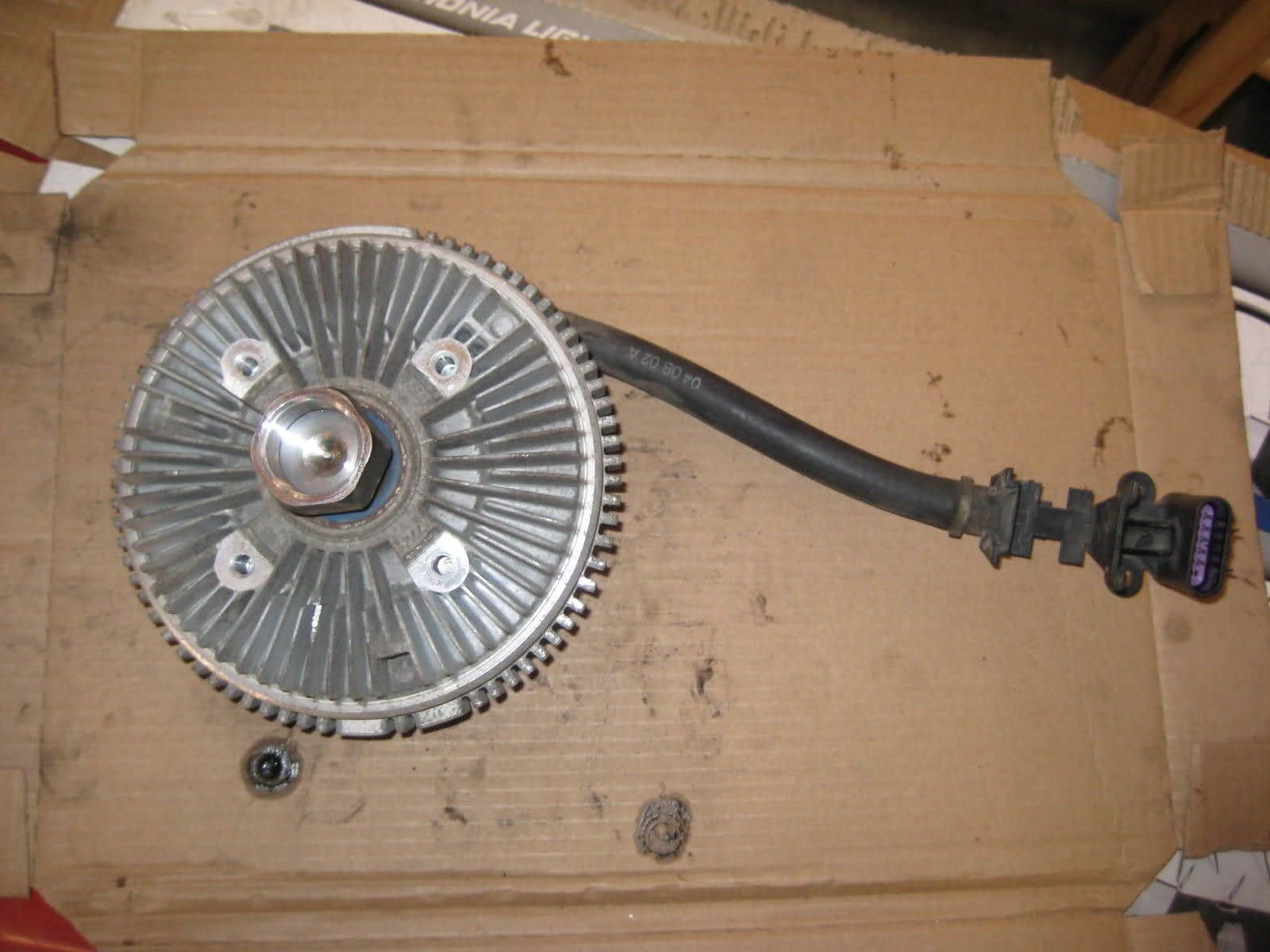 Solved Envoy Fan Clutch Replacement Photos Chevy