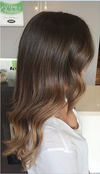 Brunette Subtle Ombre Hair Google Search Hair Doos Pinterest