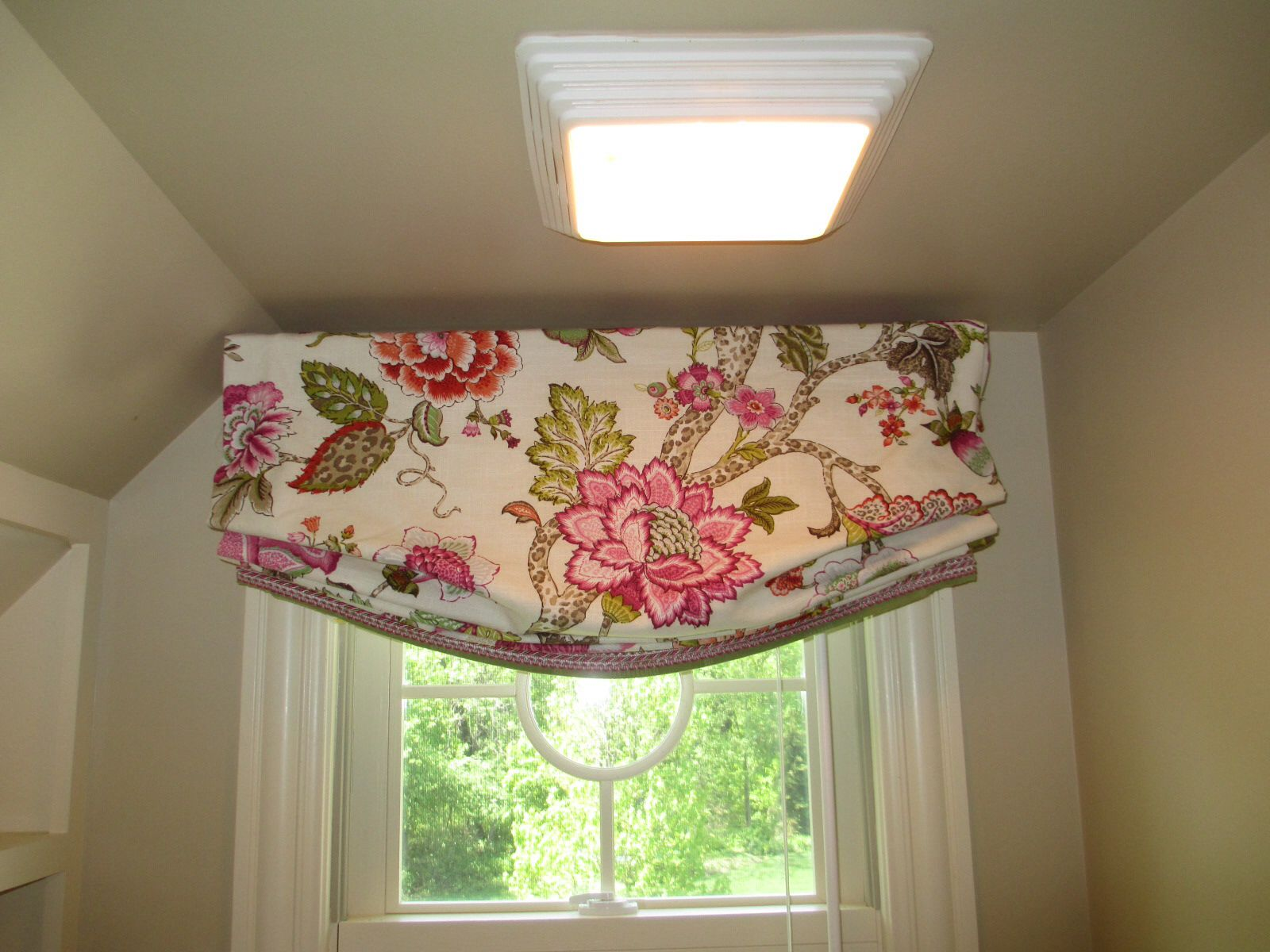 Faux Relaxed Roman Shade For Barrett S Room The Rh