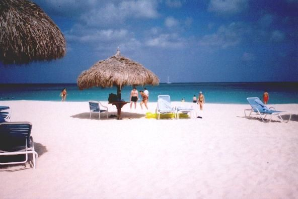 Aruba :)  This place is awesome!  I was in the best mood every day I was there <3