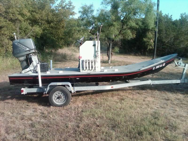 Homemade alumninum | Texas Scooter | Flats boat, Boat, Bay boats