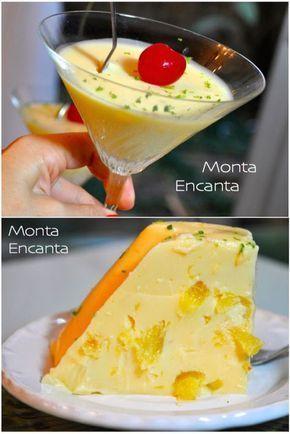 Gelado De Abacaxi E Leite De Coco Com Imagens Receitas Doces