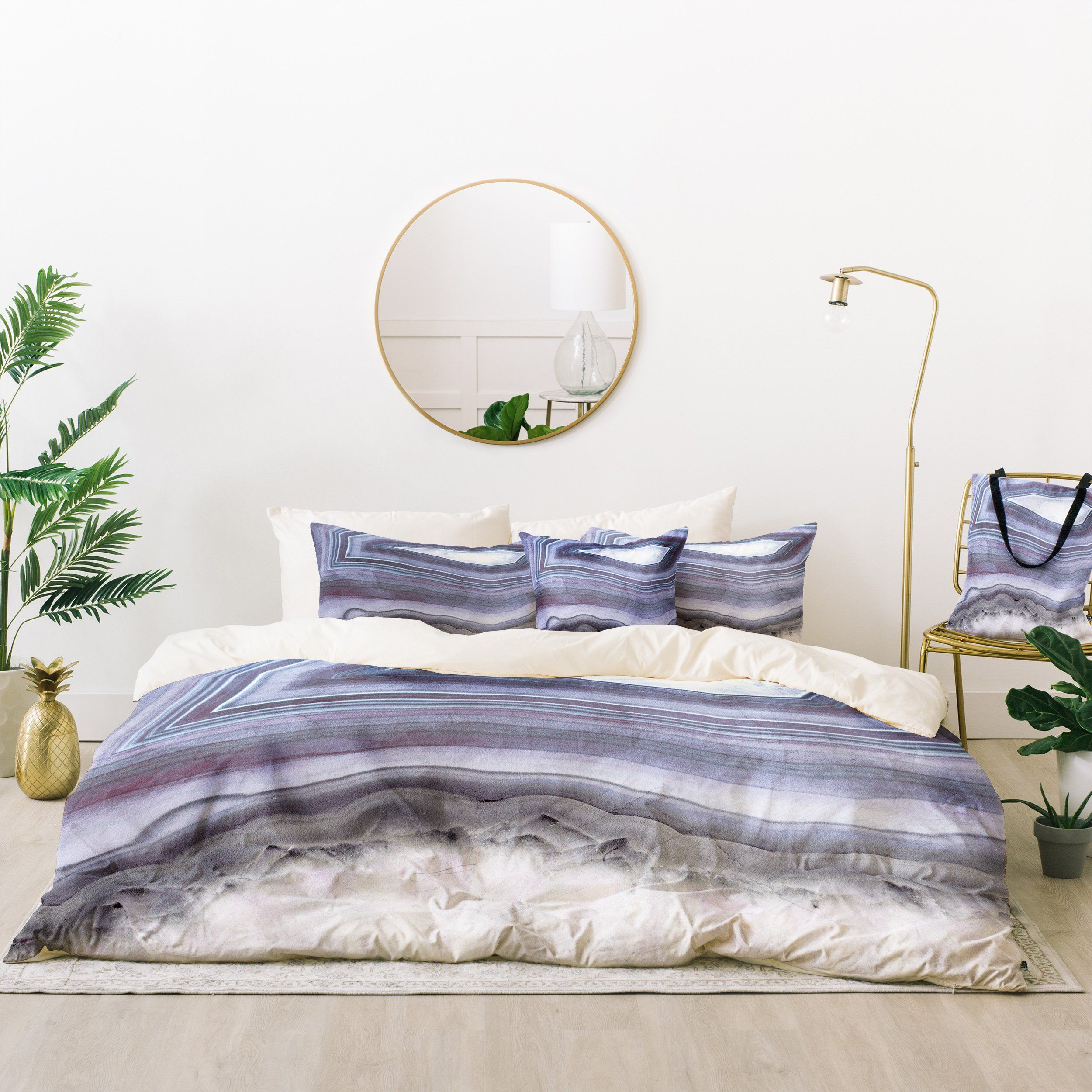 Emanuela Carratoni Winter Agate Bed In A Bag Deny