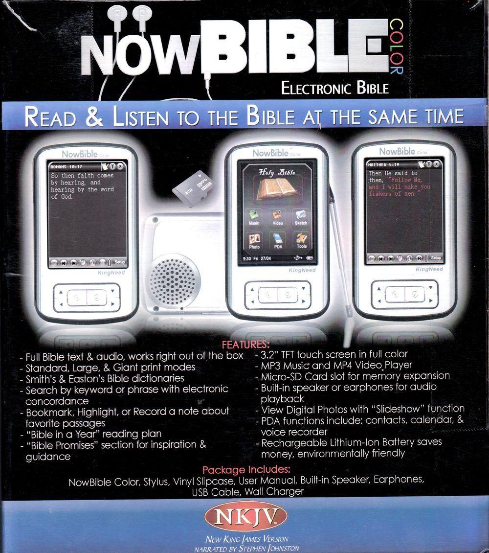 Amazon com: Now Bible Color NKJV (IBible NowBible Wowbible