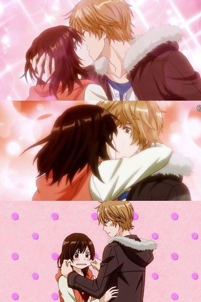 Erika Y Kyouya Ookami Shoujo To Kuro Ouji Wolf Girl And Black Prince Anime Wolf Girl Wolf Girl Romantic Anime