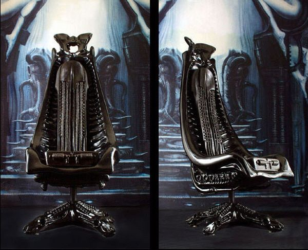 The Harkonnen Capo Chair By H.R. Giger