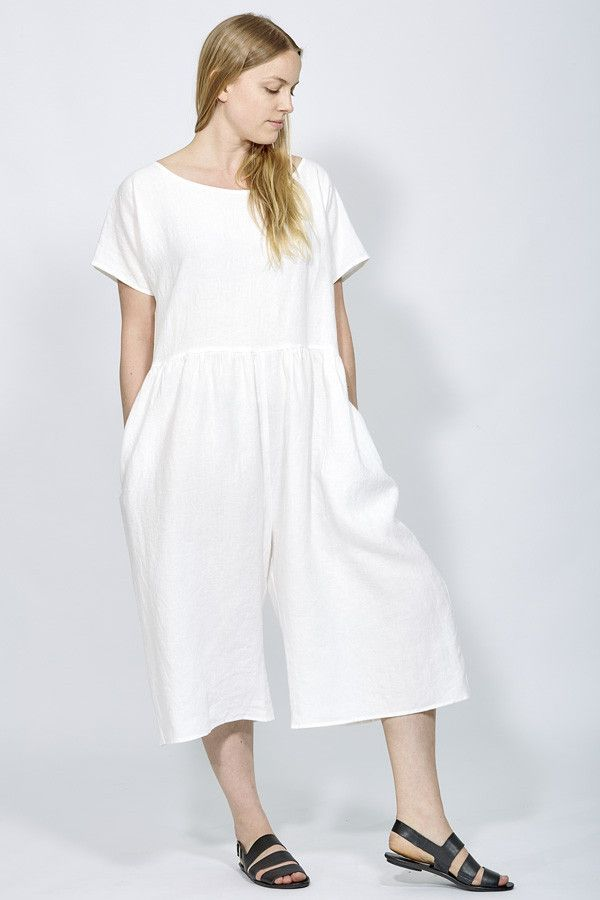 Brookes Jumpsuit White