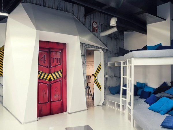 20 Inspirational Office Decor Designs Spaceship Bunk Bed And