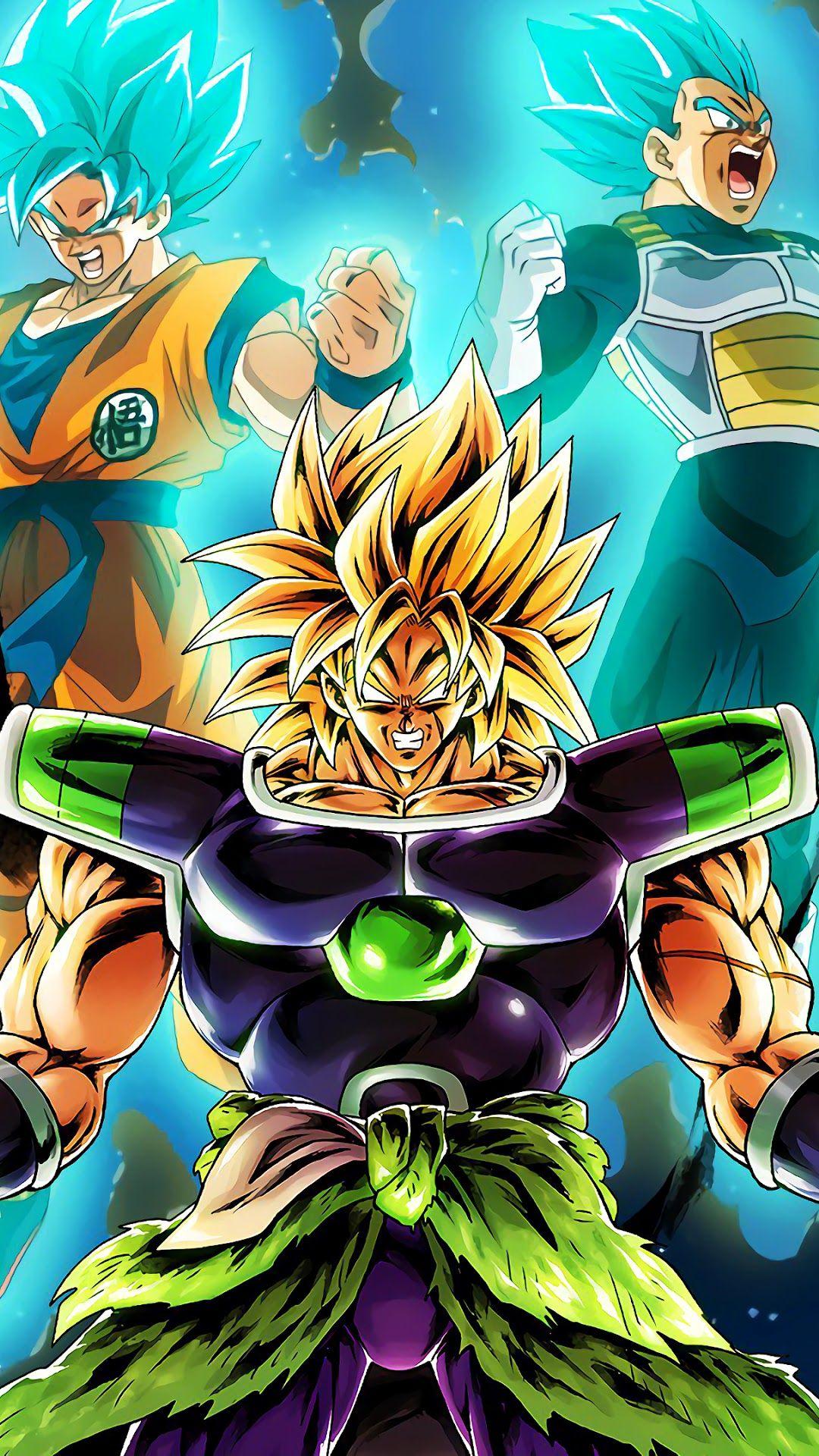 Dragon Ball Iphone Wallpaper Broly Ve A Goku Dragon Ball Super