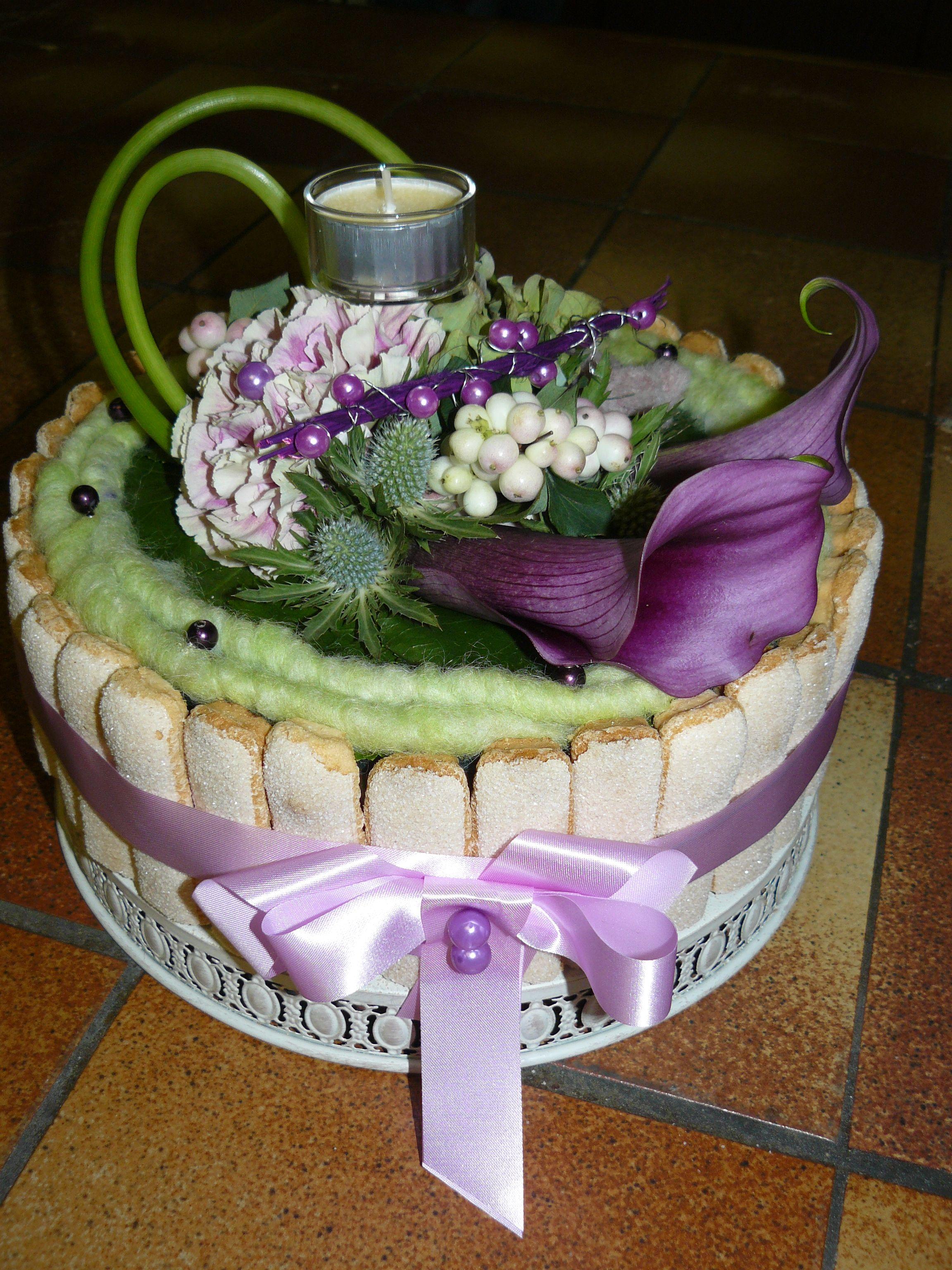 gateau floral g teaux floraux pinterest g teau floral gateau fleur et composition florale. Black Bedroom Furniture Sets. Home Design Ideas
