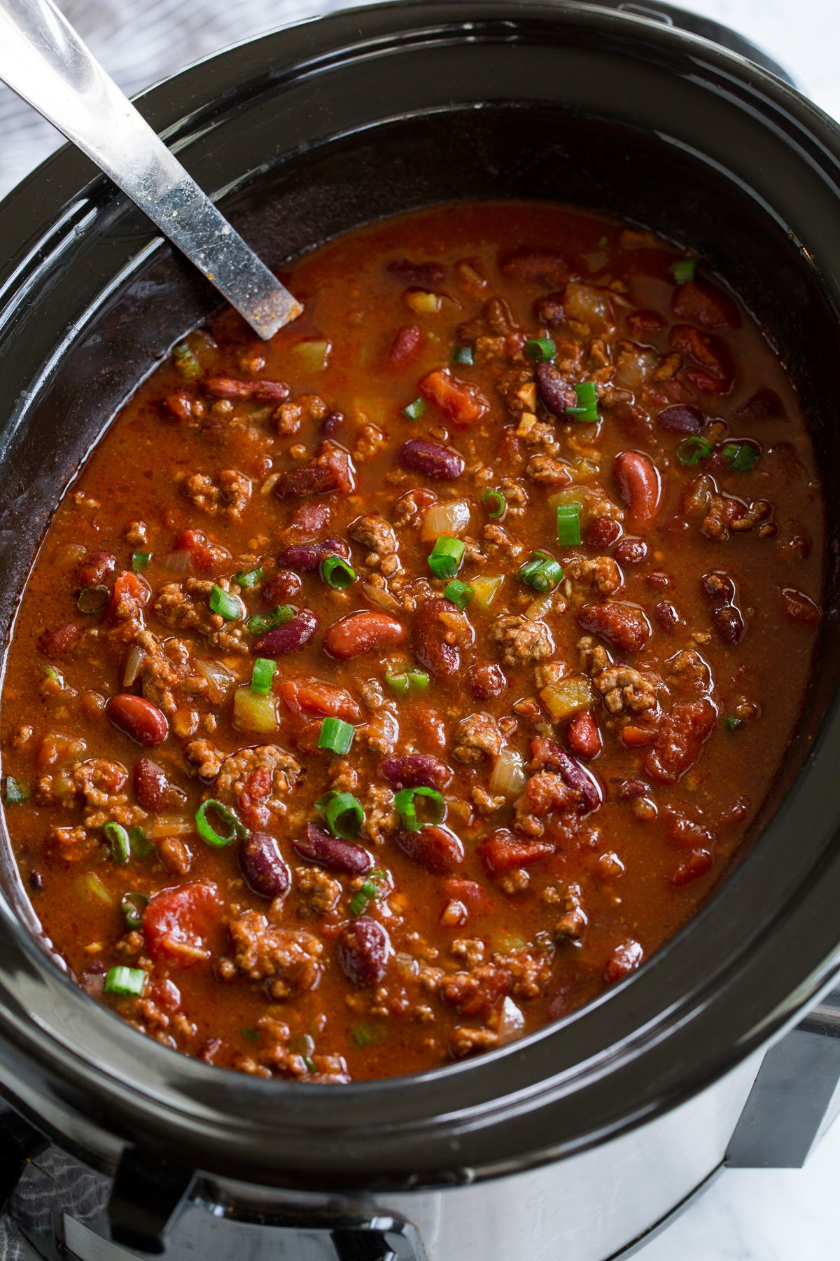 Slow Cooker Chili Best Chili Ever Cooking Classy Slow Cooker Chili Recipe Chili Recipe Crockpot Best Chili Recipe