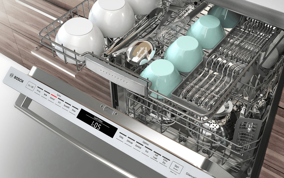 The New Bosch Benchmark Dishwasher Directly Competes With Miele How Does It Compare To The Iconic Miele Dish Clean Dishwasher Bosch Dishwashers Cleaning Hacks