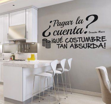 Resultado de imagen para vinilos para restaurantes - Papel decorativo cocina ...