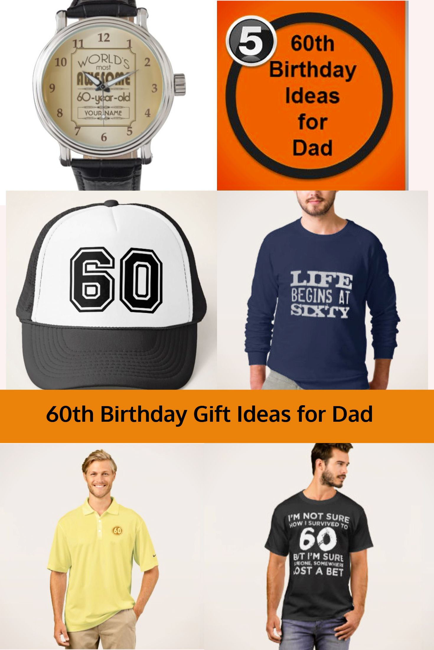 60th Birthday Gift Ideas For Dad Gifts