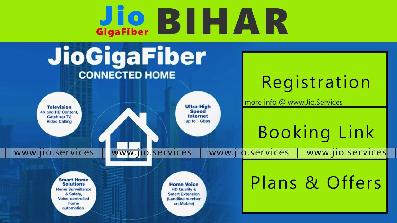 Jio GigaFiber In Aurangabad | 🔗 Booking link + Registration