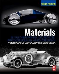 Materials 3rd Edition Michael Ashby Hugh Shercliff David Cebon