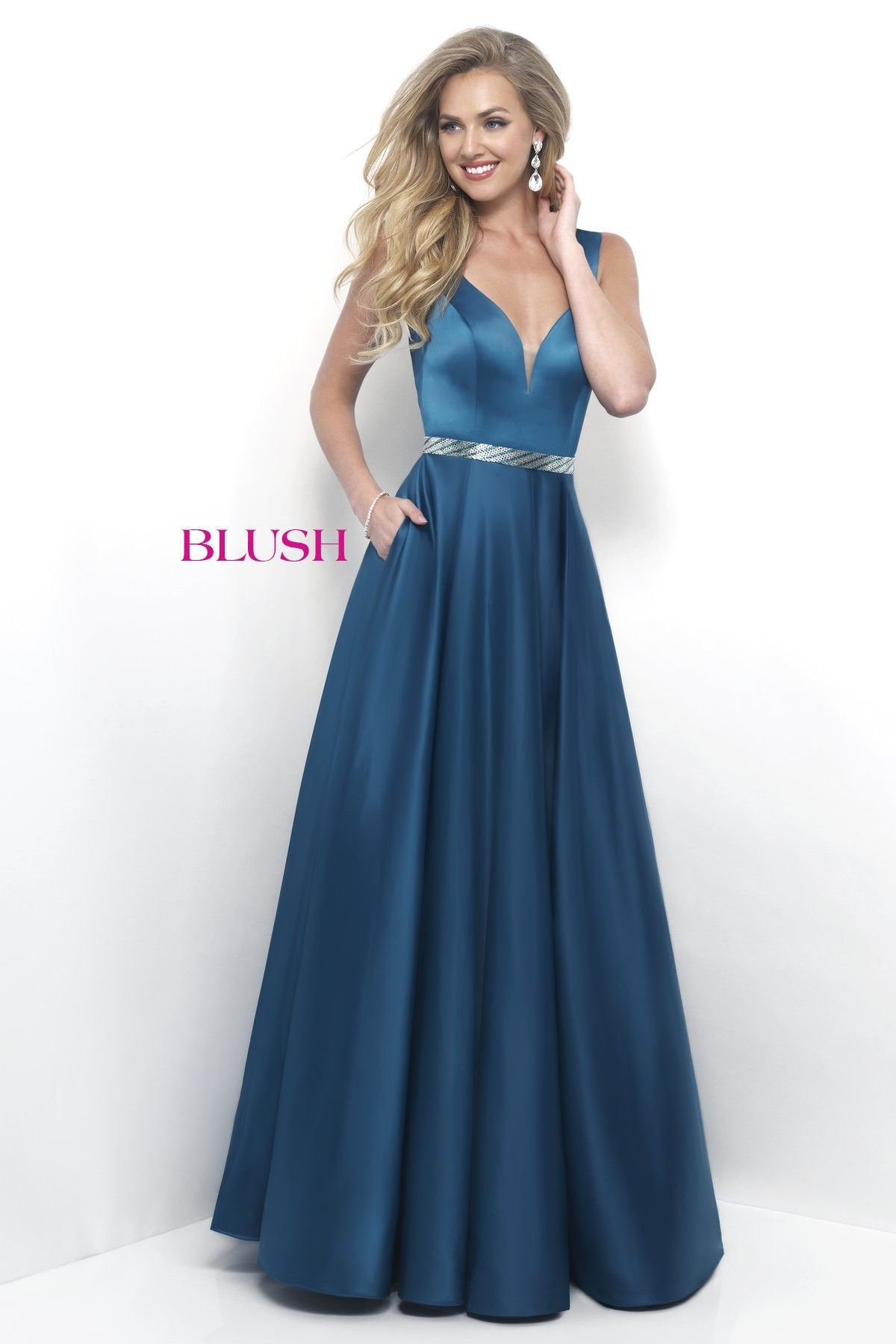 Show off in this brilliant teal ball gowncheck it out at rsvp prom