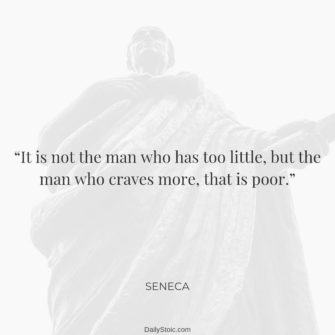 Daily Stoic On Instagram Seneca Letters From A Stoic Letter Ii Stoicism Quotes Stoic Quotes Philosophy Quotes