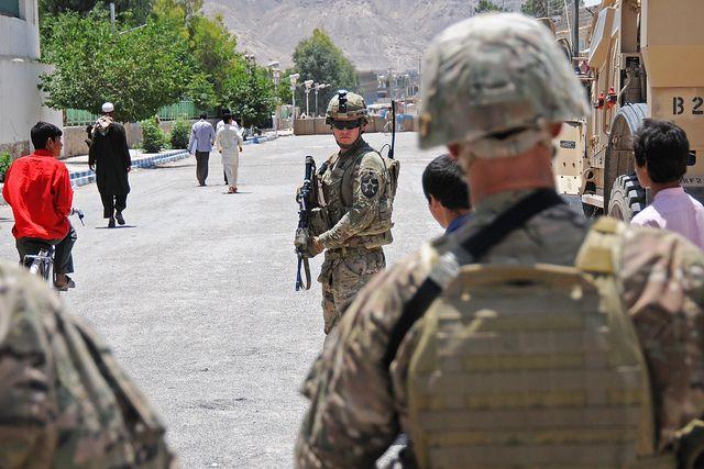 Street Security Army Sergeant Army Photo