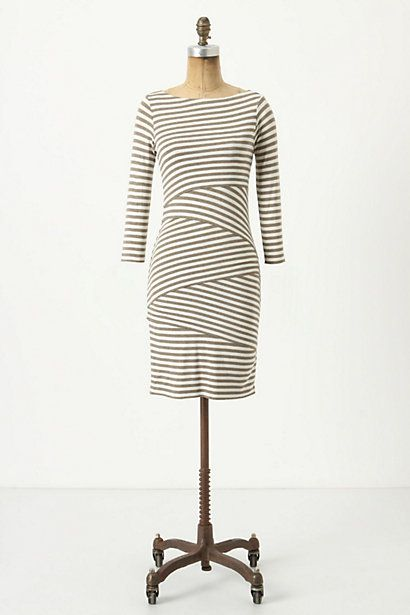 Pieced column dress by Bailey 44. It's supposed to be flattering for most body types (at least that's what I've heard).