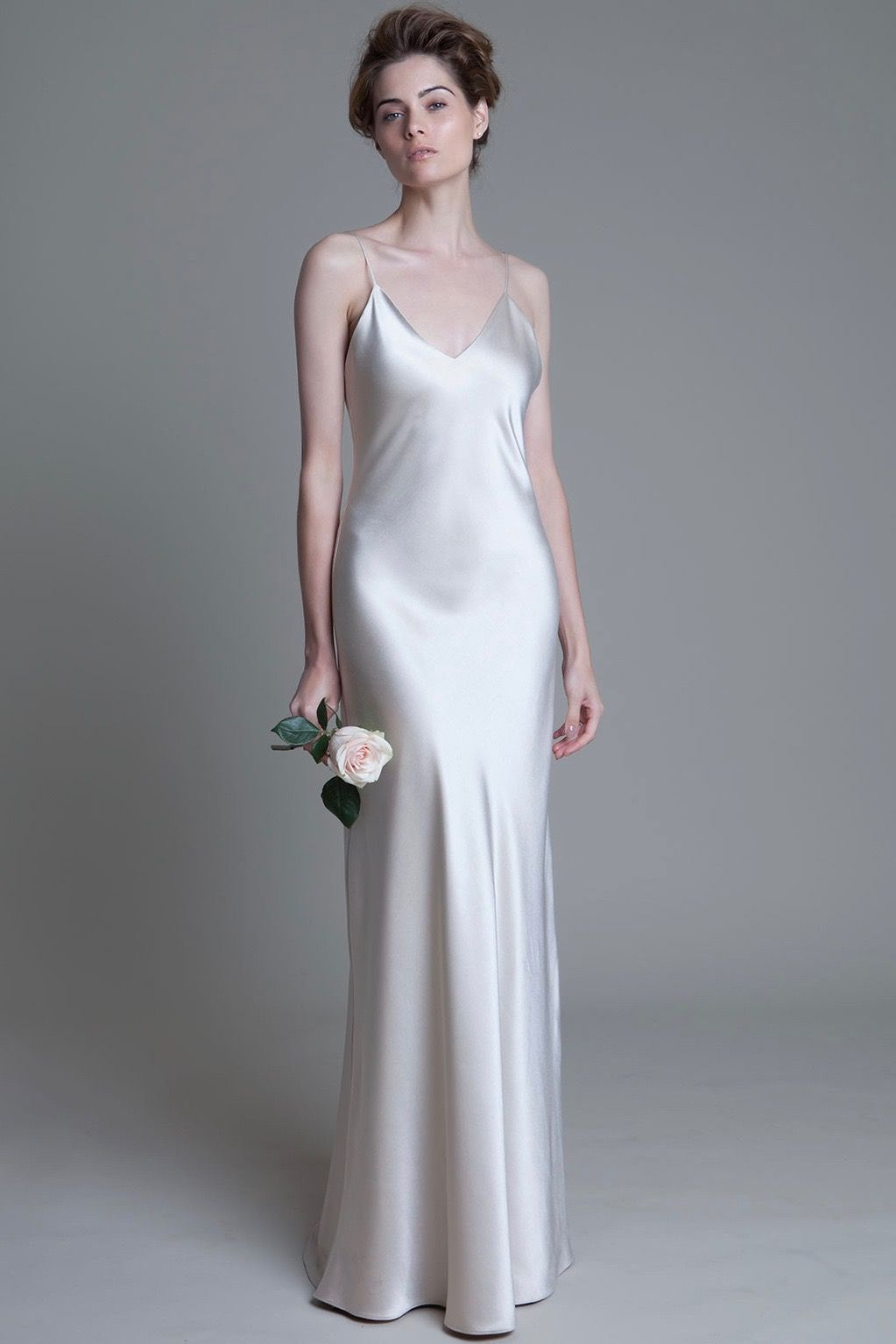 Pin by organic minimalist wedding on simple gowns pinterest