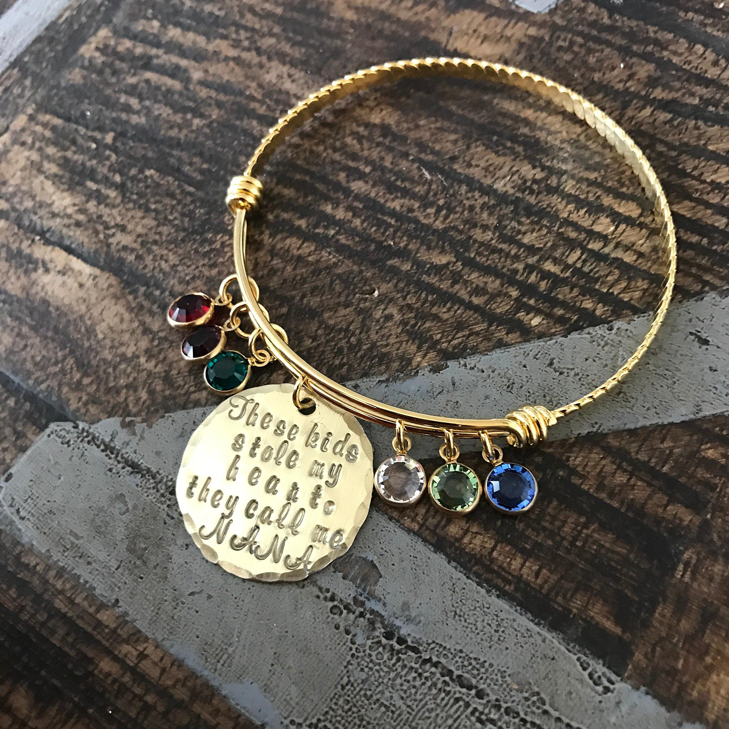 custom bangle s crdl braceletgold bracelet fullxfull mother silver gold new day listing gift mom charm birthstone jewelry il