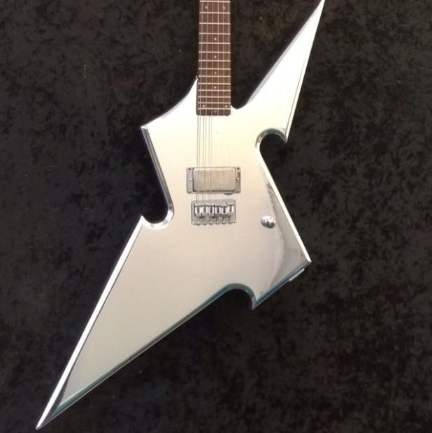 Dipinto Guitars Cara Guitars Custom Build Shuriken Thowing Star