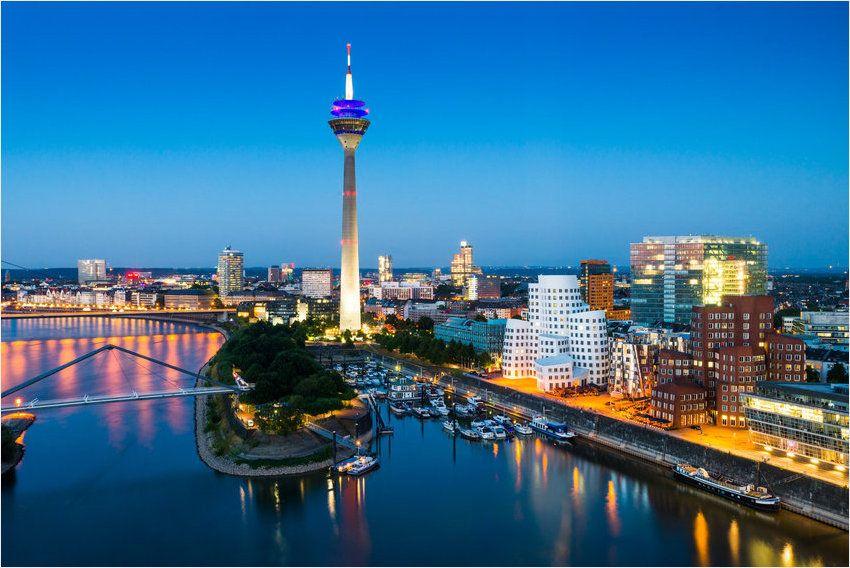 Erlebt zu zweit die schöne Medienstadt Düsseldorf
