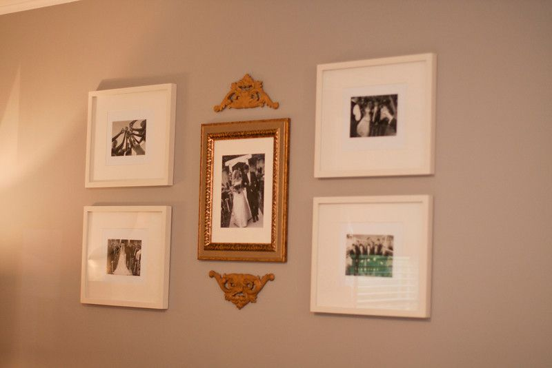 Just a Touch of Gray: House Tour - photo arrangement