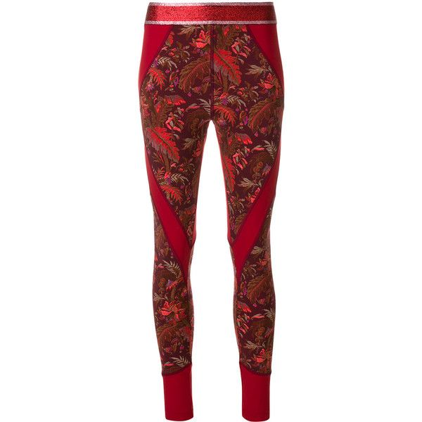 printed leggings - Red Etro JvhIOR