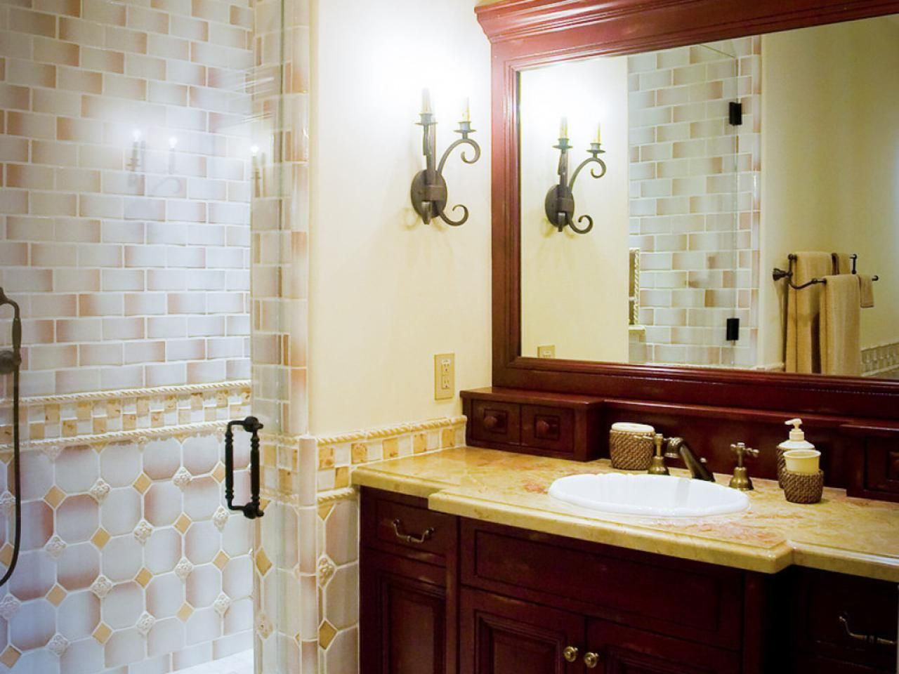 Case Study Encore 4505 At Town Center  Virginia Beach Va Enchanting Small Bathroom Countertop Ideas Design Decoration