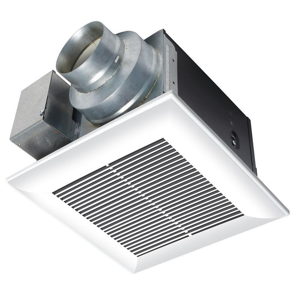 Panasonic Whisperceiling 80 Cfm Ceiling Exhaust Bath Fan Energy Star Fv 08vq5 The Home Depot Bathroom Fan Bath Fan Ceiling Exhaust Fan