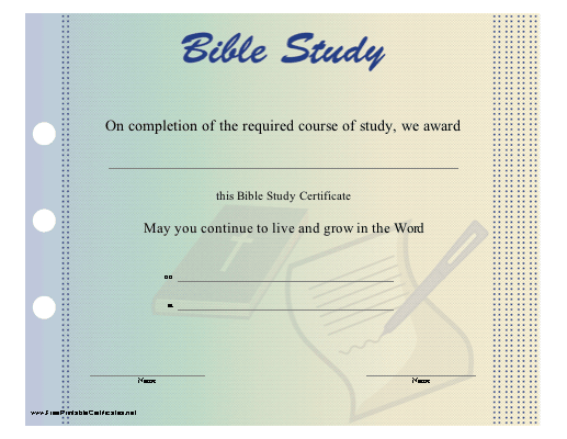 This bible study certificate is illustrated with the holy bible this bible study certificate is illustrated with the holy bible and designed to look as if yadclub Choice Image