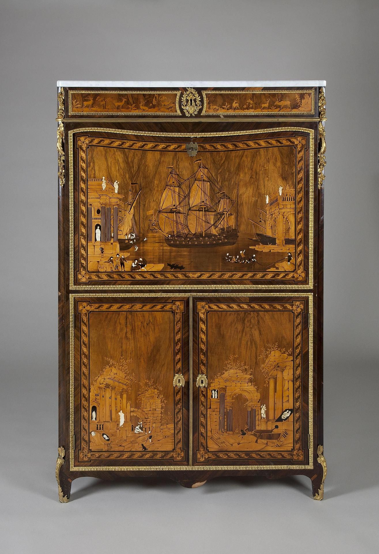 Secretaire. Place of creation: France. Date: Middle of the 18th century. - Secretaire. Place Of Creation: France. Date: Middle Of The 18th
