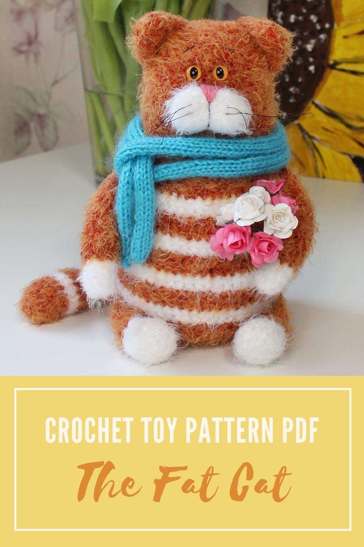 Amigurumi Fat Cat Crochet Free Pattern - Crochet & Knitting | 1500x1000