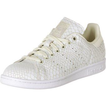 adidas stan smith dames wit goud