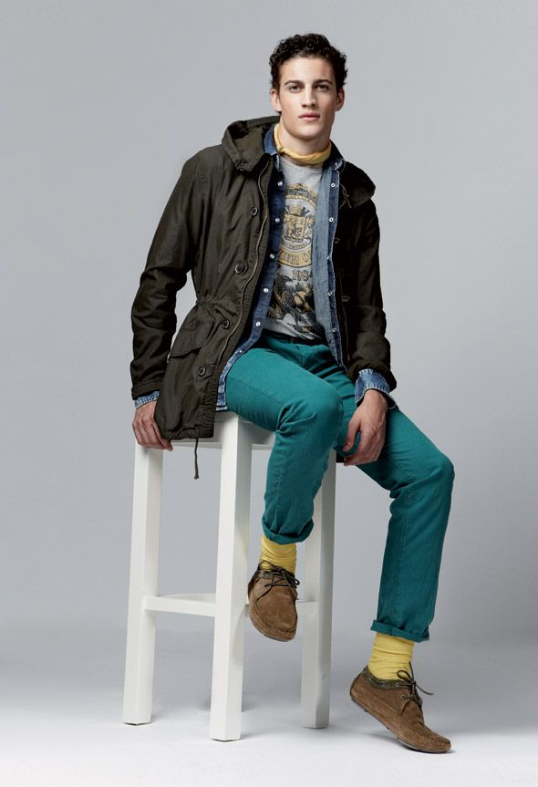 GAS Jeans Spring Summer 2013 total look for him