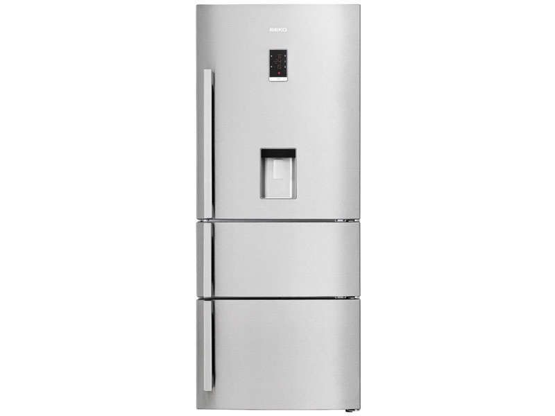 Réfrigérateur Combiné 467 Litres BEKO CN151920 DX Prix Promo Refrigerateur  Conforama 698.30 U20ac TTC Au Lieu
