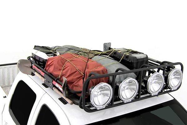 Smittybilt Defender Roof Rack Loaded Truck Roof Rack Toyota